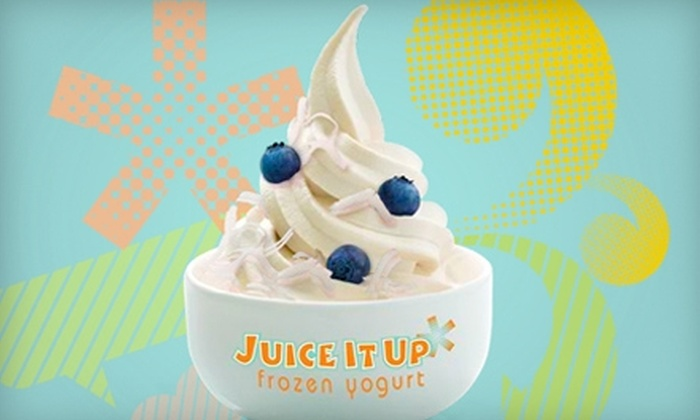 Juice It Up Frozen Yogurt - Temecula: $5 for $10 Worth of Frozen Yogurt at Juice It Up Frozen Yogurt in Temecula