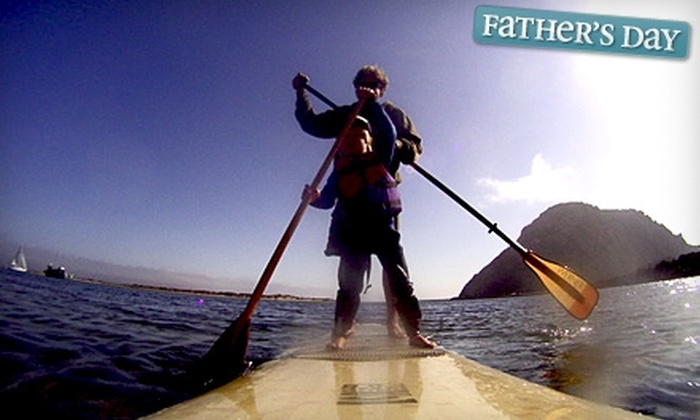 Central Coast Stand Up Paddling - Morro Bay: $40 for a Stand-Up Paddling Lesson at Central Coast Stand Up Paddling in Morro Bay (Up to $80 Value)