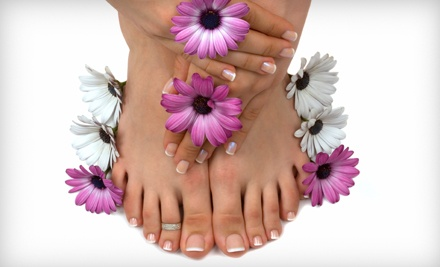 Spa Mani-Pedi Valid on or Before Jan. 1, 2012 (a $63 value) - Angel Day Spa & Salon in Bee Cave