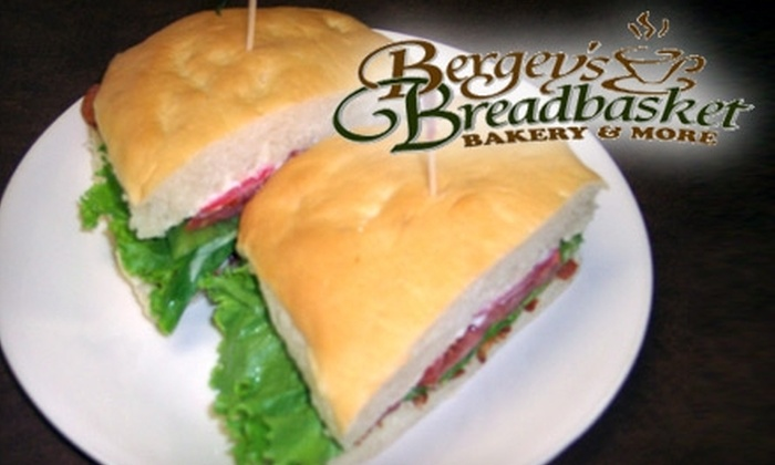 Bergey's Breadbasket - Butts Station: $5 for $10 Worth of Baked Goods and Deli Fare at Bergey's Breadbasket