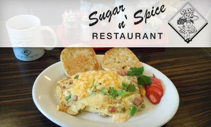 Sugar n' Spice - Paddock Hills: $6 for $15 Worth of Fresh Diner Fare at Sugar n' Spice