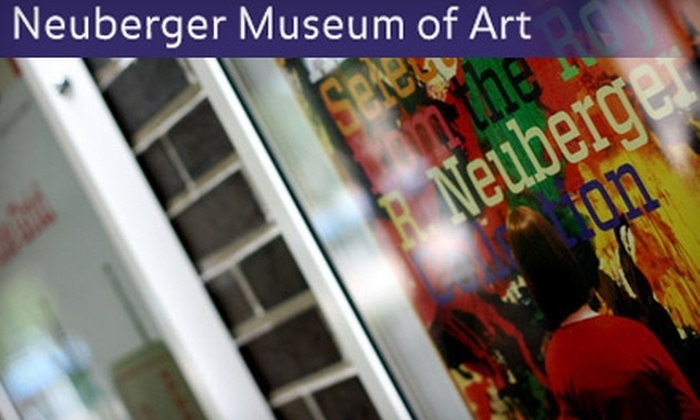 Neuberger Museum of Art - Harrison: $25 for Individual Membership ($50 Value) or $7 for Three Admissions ($15 Value) to the Neuberger Museum of Art