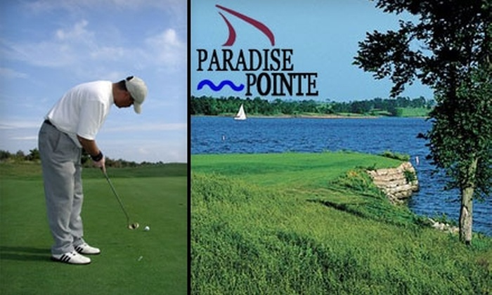 Paradise Pointe Golf Complex - Platte: $27 for 18 Holes of Golf, a Bag of Balls, and Golf Cart Rental at Paradise Pointe Golf Complex in Smithville (Up to $54 Value)