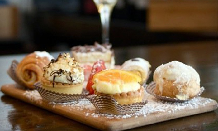 Gusto Vino & Caffé - West Avenue: European Breakfast and Mimosas for Two or Four at Gusto Vino & Caffé