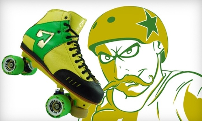 Green Bay Smackers - Appleton: $10 for Two Tickets to the Green Bay Smackers' Men's Roller-Derby Home Opener ($20 Value)