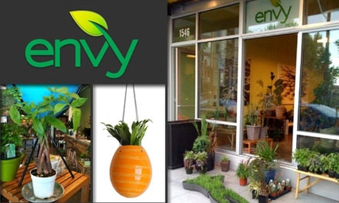 Envy Grows LLC - Stevens: $15 for $30 Worth of Pots and Plants at Envy Grows