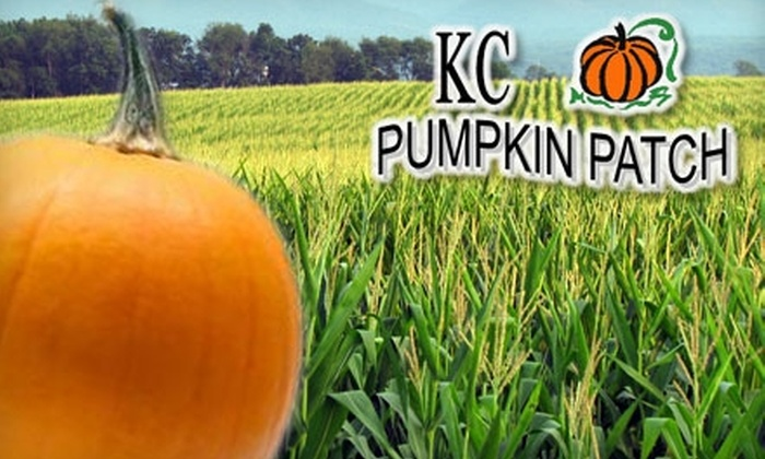 KC Pumpkin Patch and Corn Maze - Gardner: $7 for Admission and Maze Ticket to KC Pumpkin Patch and Corn Maze in Gardner (Up to $16 Value)