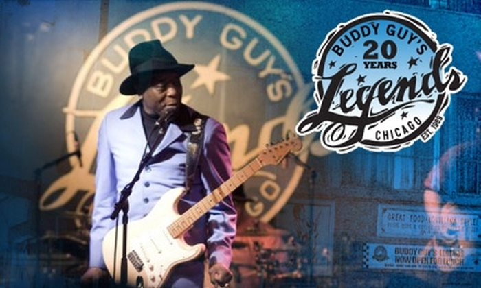 Buddy Guy's Legends - South Loop: $20 for $40 Worth of Soul Food, Drinks, and Live Blues at Buddy Guy's Legends