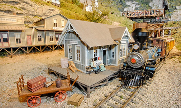 EnterTRAINment Junction - Wetherington: Two or Four Do-It-All Passes During Christmas in July Event at EnterTRAINment Junction (53% Off)