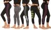 Women's Screen-Printed Leggings (5-Pack): Women's Screen-Printed Leggings (5-Pack)