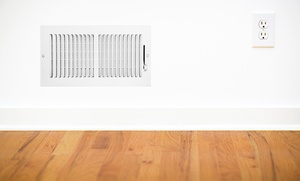 California free air: Whole-House Air-Duct and Dryer-Vent Cleaning with Furnace Check-Up  (80% Off)