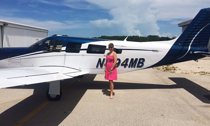 Duck Key Charters - Marathon General Aviation Airport: $199 for a 20-Minute Aerial Sightseeing Charter for Up to Three from  Duck Key Charters($447 Value)