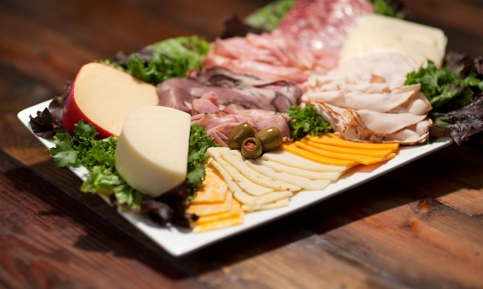 Off the Vine - Central San Pedro: $24 for Wine Tasting with Cheese or Charcuterie for Two at Off the Vine ($40 Value)