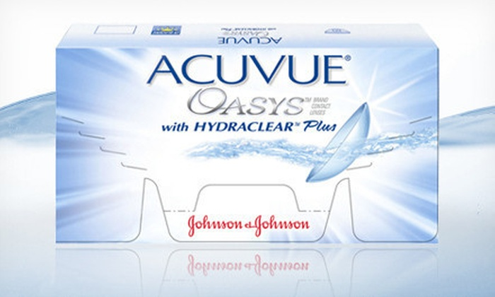 MD Contact Lenses: Three- or Six-Month Supply of Acuvue Oasys Contact Lenses from MD Contact Lenses (Up to 55% Off)