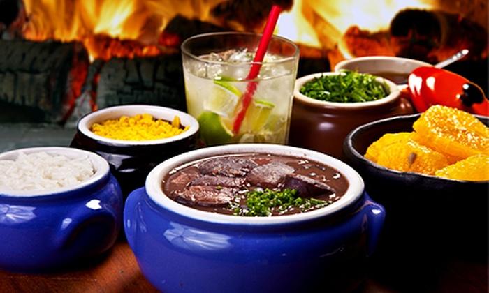 Canto Do Brasil Restaurant - Civic Center: Brazilian Dinner for Two or Four at Canto Do Brasil Restaurant (Up to 50% Off)