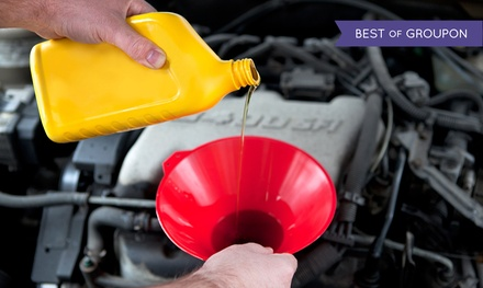 Conventional or Synthetic Oil Change at Xpress Lube Service Center (Up to 51% Off)