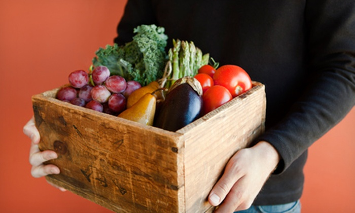Organic Mountain Farms: Organic Fruit & Vegetable Delivery from Organic Mountain Farms (Half Off). Two Options Available.
