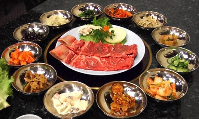 San-Su Korean BBQ - Sycamore Hills: $15 for $30 Worth of Korean Dinner Cuisine at San-Su Korean BBQ