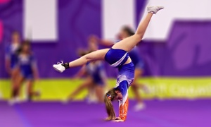 West Coast Rush Cheerleading: Cheerleading and Gymnastics Classes for One or Two at West Coast Rush Cheerleading (Up to 53% Off)