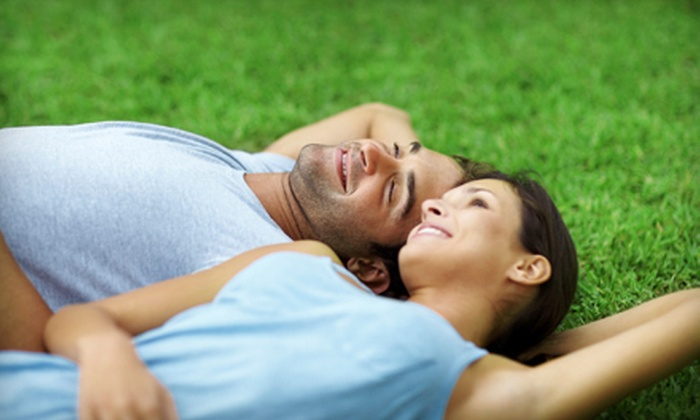 Dr. Green Services - Calgary: $35 for Up to 6,000 Square Feet of Lawn Aeration from Dr. Green Services ($80 Value)