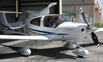 Discovery Flight with Ground School and 30 Minutes of Flying for One or Two from NexGen Aviation (Up to 53% Off)