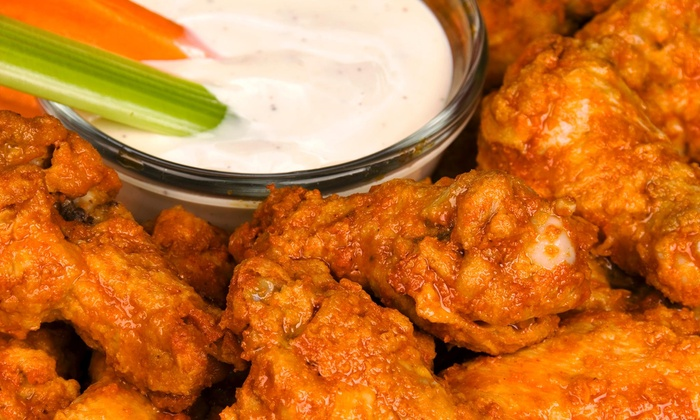 The Wings - Laredo Entertainment Center: Up to 45% Off Food and Drinks at The wings