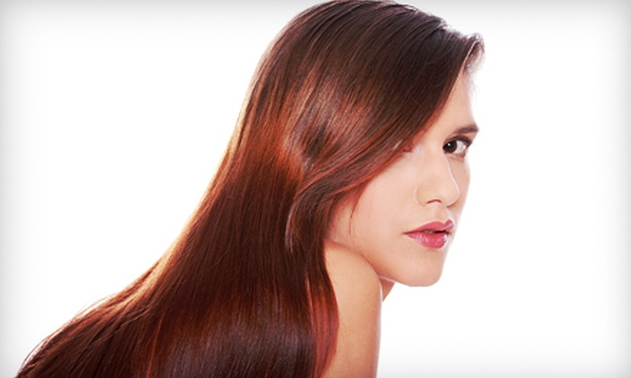 Color Me Beauty - Rancho Cucamonga: Cut with Optional Partial Highlights or Cut with Full Highlights and Toner at Color Me Beauty (Up to 56% Off)