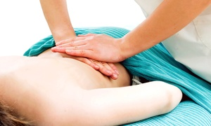 Advanced Healthcare: One Chiropractic Exam with One or Two 60-Minute Massages at Advanced Healthcare (Up to 90% Off)