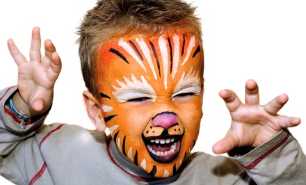 One Hour of Balloon-Twisting and Face-Painting Services from HAPPY KID ENTERTAINMENT (43% Off)