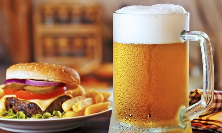 Pub Food and Beer at Jake's Sports Bar & Grill (Up to 48% Off). Two Options Available.