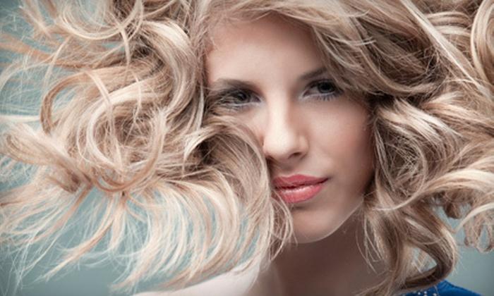 Lisa Thomas Salon - Ridgewood: Haircut Package with Optional Partial or Full Highlights or Princess Party at Lisa Thomas Salon (Up to 68% Off)