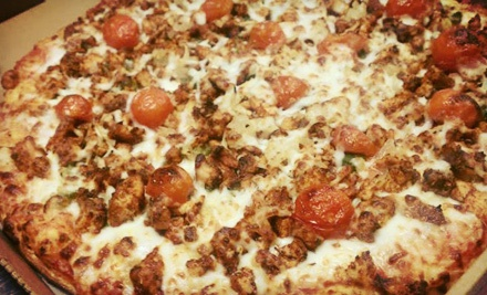 Italian and Middle Eastern Cuisine at G's Pizza & Grill (Up to 53% Off). Two Options Available.