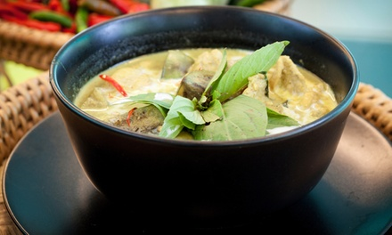 $12 for $25 Worth of Thai Dinner for Two or More at Sawasdee Thai Cuisine