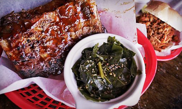 Mojo Bones - Multiple Locations: Barbecue at Mojo Bones (Half Off). Two Options Available.