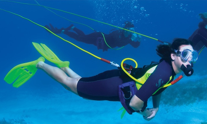 Keys Huka and Scuba - Marathon: $359 for a Four-Hour Hookah Dive and Snorkel Session for Up to Six from Keys Huka and Scuba ($730 Value)