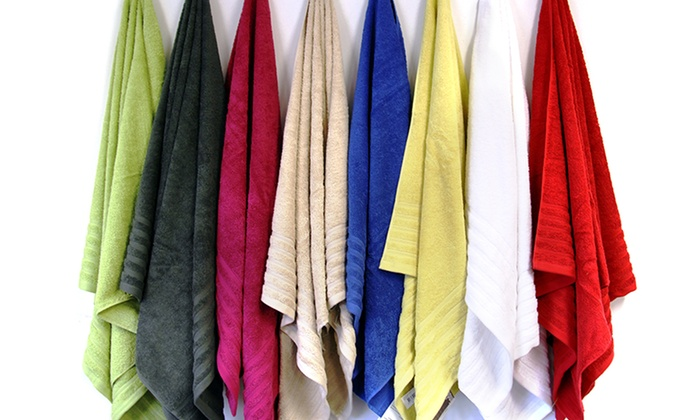 Bath-Sheet Sets: Cotton Dobby Bath-Sheet Sets. Multiple Colors Available. Free Shipping and Returns.