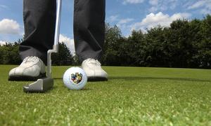 Attighof Golf: Golf-Schnupperkurs inkl. Trainerbetreuung, Leihschläger, Bällen für Ein oder Zwei bei Attighof Golf (bis zu 73% sparen)