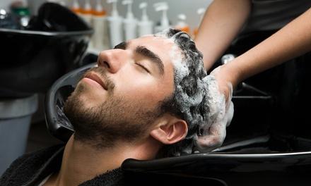 Taglio, barba, colore e piega