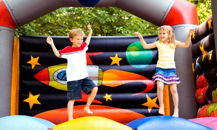 All Pumped Up - Minneapolis / St Paul: $65 for a Four-Hour Rental of a 13'x13' Inflatable Bounce House from All Pumped Up ($135 Value)