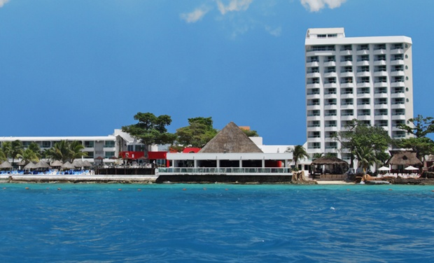 TripAlertz wants you to check out ✈ All-Inclusive El Cid La Ceiba Beach Stay w/ Air. Includes Taxes and Fees. Price per Person Based on Double Occupancy. ✈ All-Inclusive Cozumel Resort with Great Diving - Cozumel Vacation with Airfare