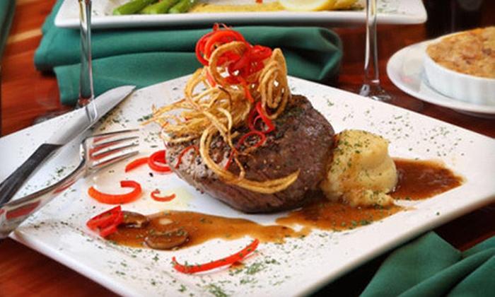 Delaney's Steakhouse - El Paso: Steakhouse Cuisine for Dinner or Lunch or Sunday Brunch at Delaney's Steakhouse (Half Off)