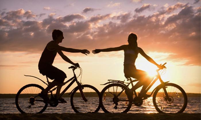 Santa Monica Bike Rental - Santa Monica: One or Two 10-hour Beach-Cruiser-Bike Rentals, or a 2-hour Electric Bike Rental (Up to 56% Off)