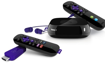 Roku Streaming Stick or Step to Roku 3 Streaming Media Player with HDMI Cable (Manufacturer Refurbished)