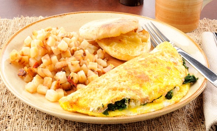 Breakfast or Carry-Out at The Bungalow Restaurant and Bar (40% Off)