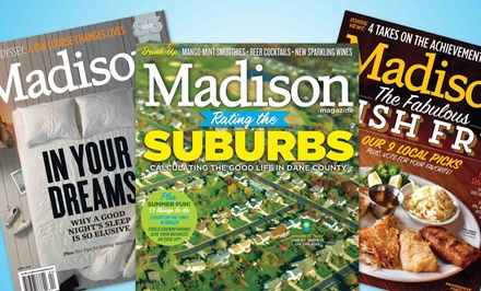 "$9 for a One-Year ""Madison Magazine"" Subscription ($19.95 Value)"