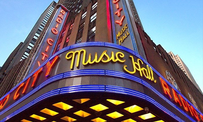 Radio City Music Hall Tour - Radio City Stage Door Tour | Groupon