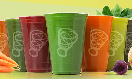 Two or Three Groupons, Each Good for Juice or Smoothie at Juice It Up! (Up to 40% Off)