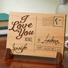 Up to 60% Off Personalized Wooden Postcard