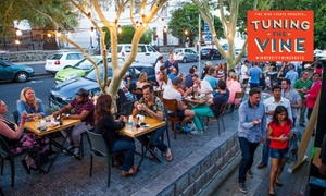 Tuning The Vine: Double General Tickets for R169 to Tuning The Vine #InnerCityWineRoute (50% Off)
