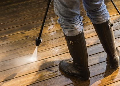 Sidewalk or Concrete Pressure Washing from aaa Houston Pressure Wash (80% Off)